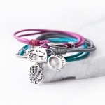 Bracelet_ColouredLeatherCharms_WEB