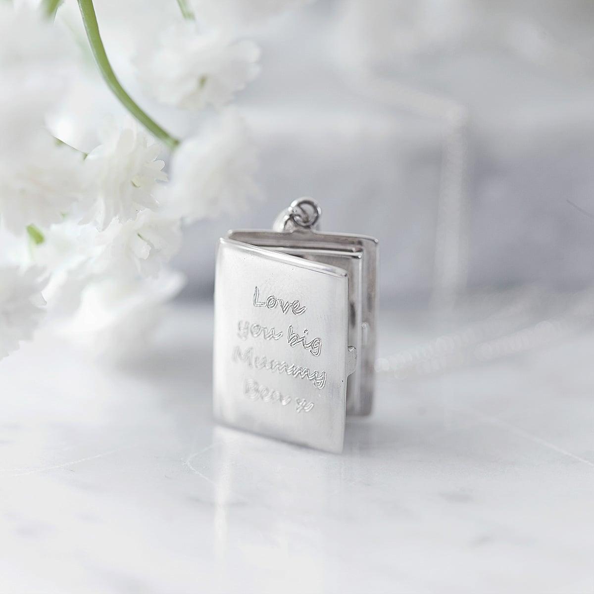 Silver Photo locket