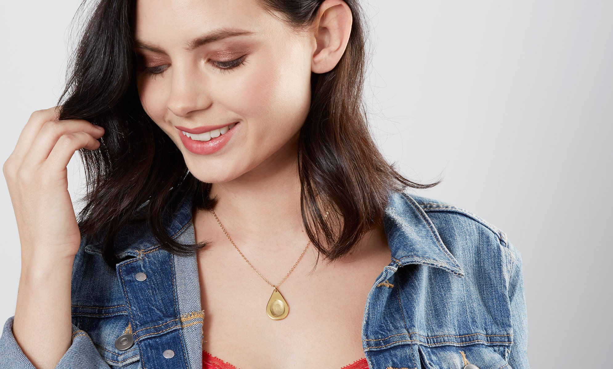 2348717ce Button and Bean | Personalised Fingerprint Jewellery