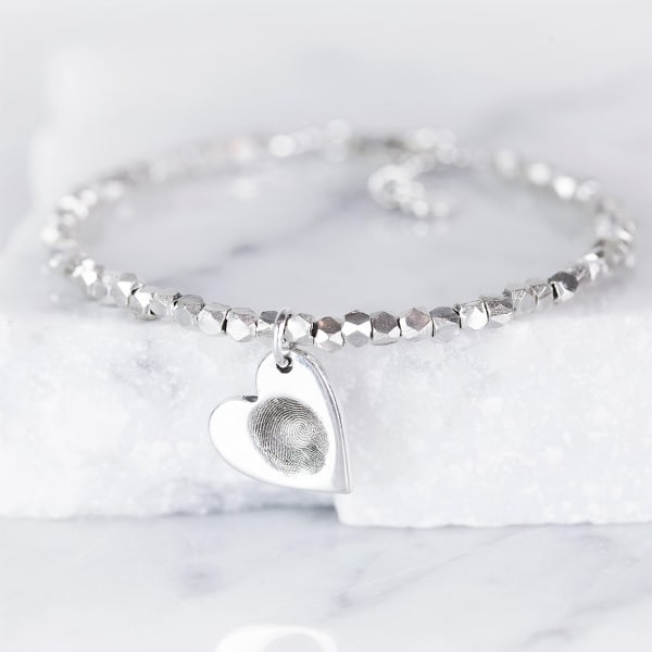 baby silver bracelet