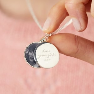 8f738e27f Personalised Sterling Silver Engraved Photo Locket £89